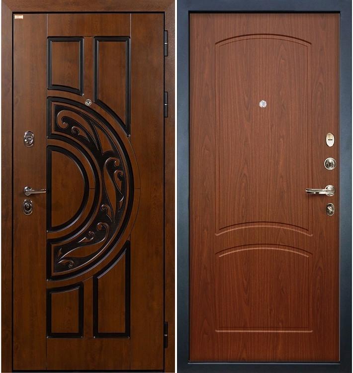 Входная дверь Спартак CISA / Береза мореная (панель №11)