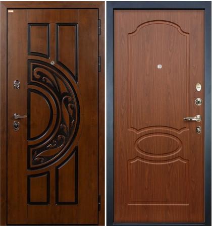 Входная дверь Спартак CISA / Береза мореная (панель №12)
