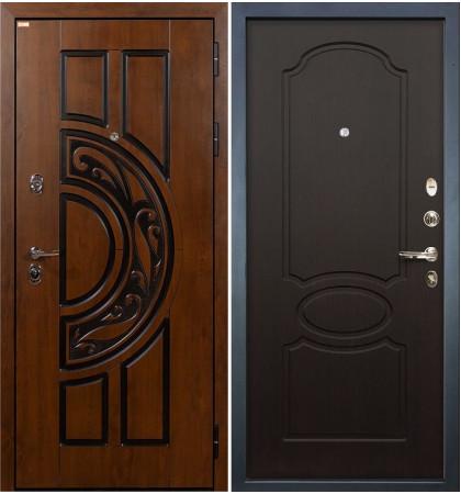 Входная дверь Спартак CISA / Венге (панель №13)