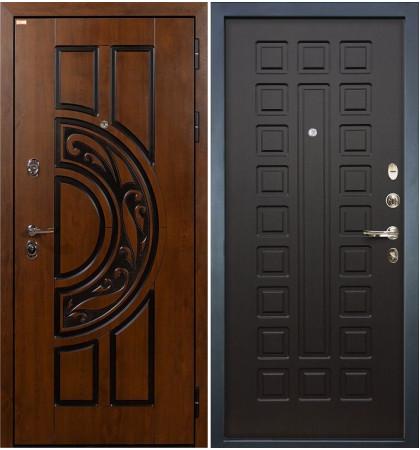 Входная дверь Спартак CISA / Венге (панель №21)