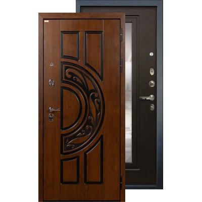 Входная дверь Лекс Спартак с зеркалом (Венге)