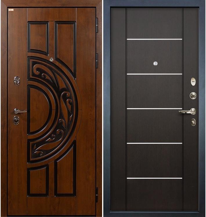 Входная дверь Спартак CISA / Венге (панель №24)