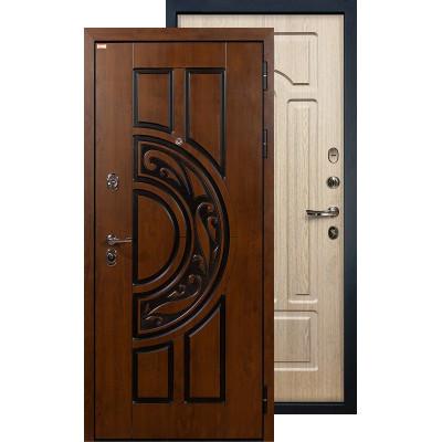 Входная дверь Лекс Спартак ФЛ-25 (Беленый дуб)