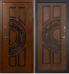 Входная дверь Лекс Спартак ФЛ-27 (Голден патина)