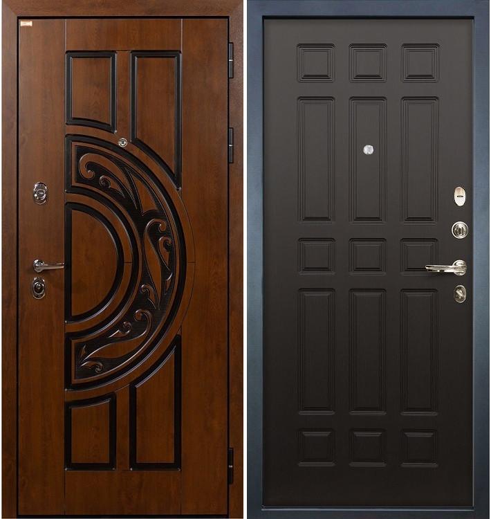 Входная дверь Спартак CISA / Венге (панель №29)