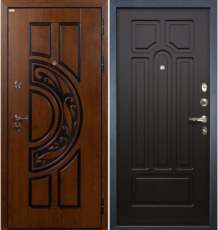 Входная дверь Спартак CISA / Венге (панель №32)