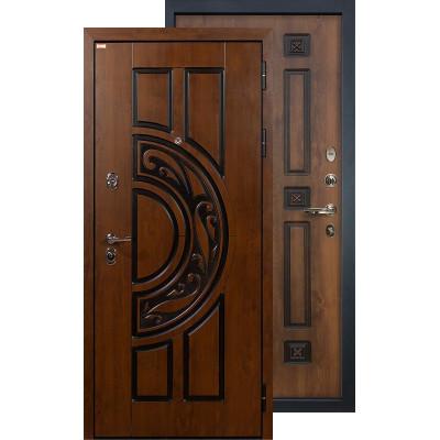 Входная дверь Лекс Спартак ФЛ-33 (Голден патина)