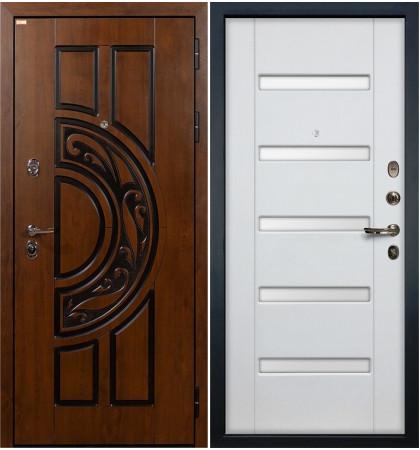 Входная дверь Спартак CISA / Белый ясень (панель №34)