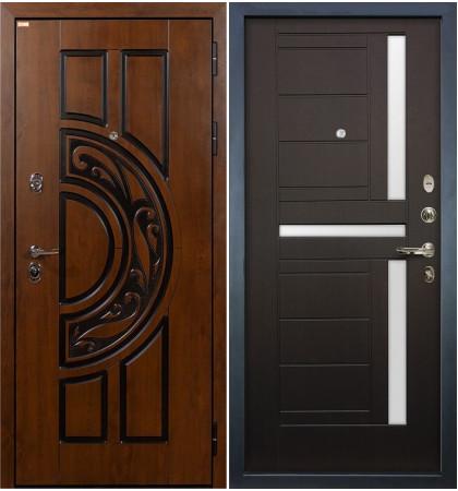 Входная дверь Спартак CISA / Венге (панель №35)