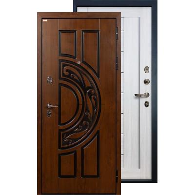 Входная дверь Лекс Спартак Верджиния (Беленый дуб)