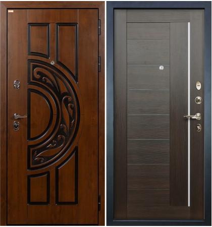 Входная дверь Спартак CISA / Верджиния Венге (панель №39)