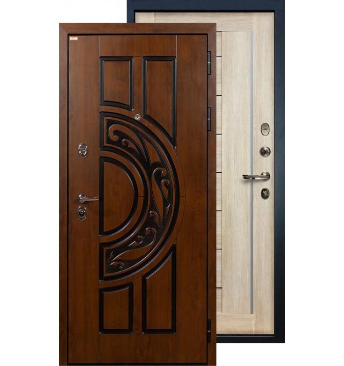 Входная дверь Лекс Спартак Верджиния (Кремовый ясень)