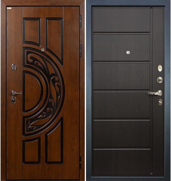 Входная дверь Спартак CISA / Венге (панель №41)