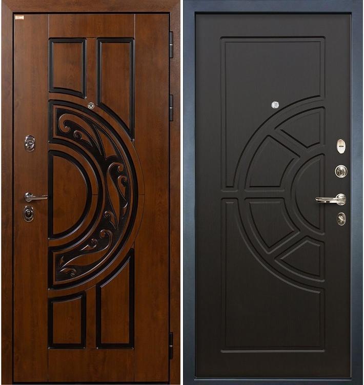 Входная дверь Спартак CISA / Венге (панель №43)