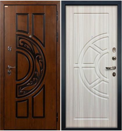 Входная дверь Спартак CISA / Сандал белый (панель №44)