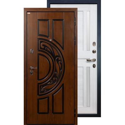 Входная дверь Лекс Спартак Баджио (Беленый дуб)