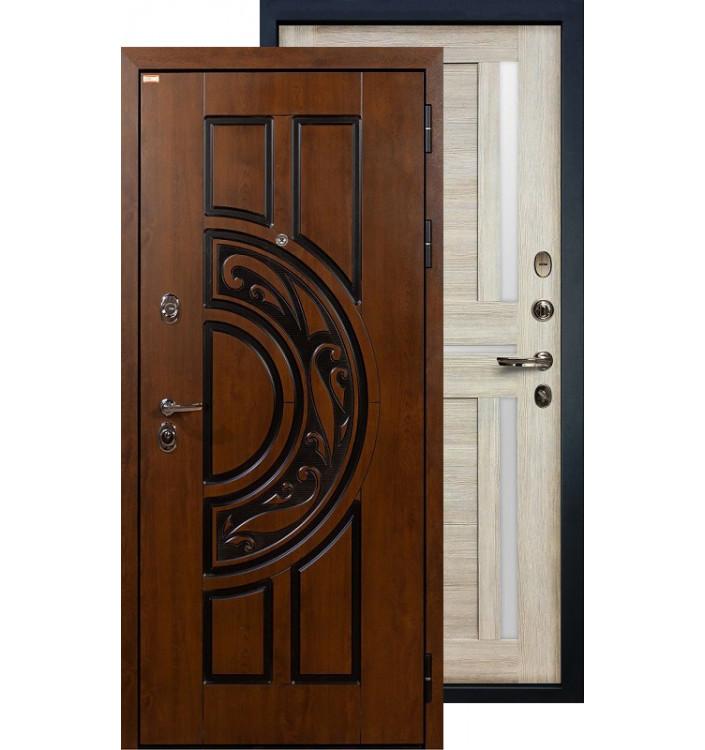 Входная дверь Лекс Спартак Баджио (Кремовый ясень)