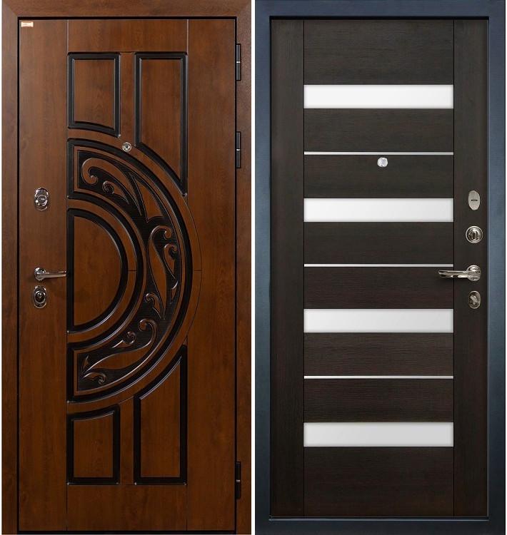 Входная дверь Спартак CISA / Сицилио Венге (панель №51)