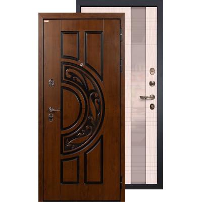 Входная дверь Лекс Спартак Новита (Беленый дуб)