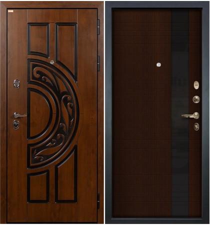 Входная дверь Спартак CISA / Новита Венге (панель №53)