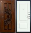 Входная дверь Лекс Спартак Вероника (Белая эмаль)