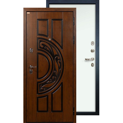 Входная дверь Лекс Спартак ФЛ-59 (Белый ясень)