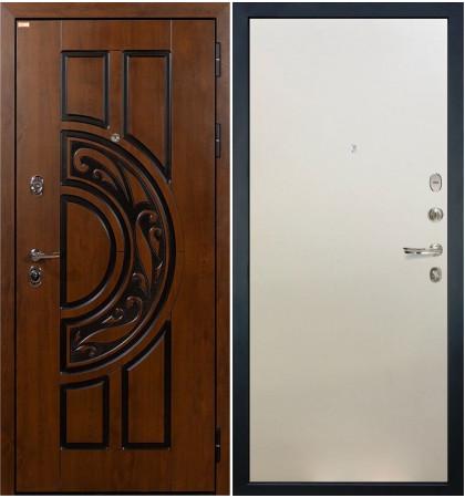Входная дверь Спартак CISA / Белый ясень (панель №62)