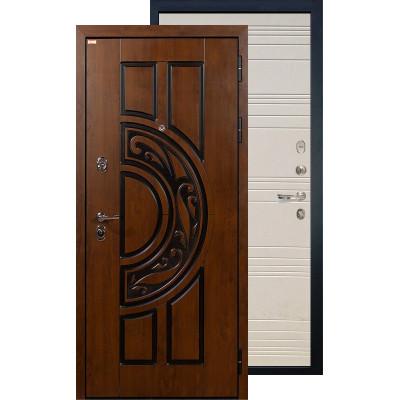 Входная дверь Лекс Спартак ФЛ-63 (Дуб фактурный)