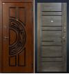 Входная дверь Лекс Спартак Терра (Графит шале)