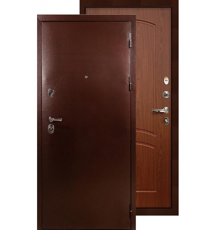 Входная дверь Лекс Титан медь ФЛ-11 (Береза мореная)