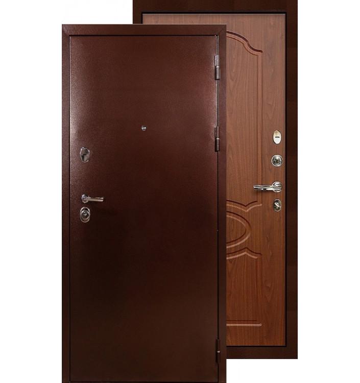 Входная дверь Лекс Титан медь ФЛ-12 (Береза мореная)