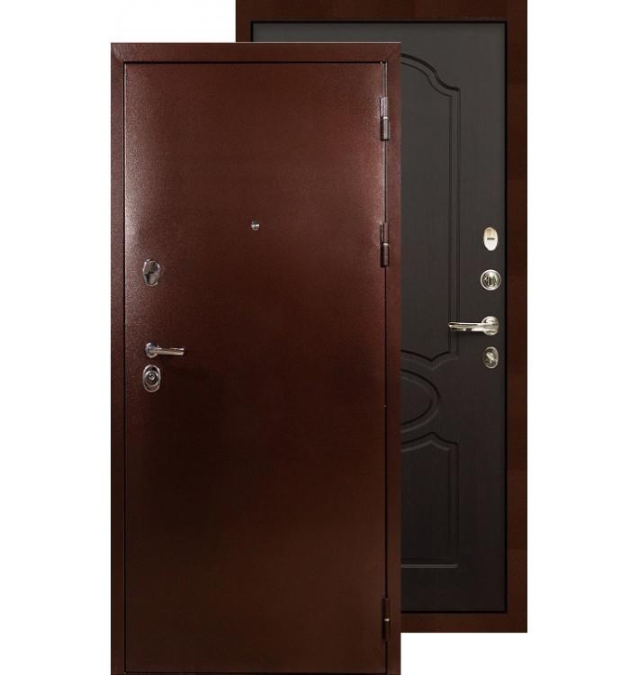 Входная дверь Лекс Титан медь ФЛ-13 (Венге)