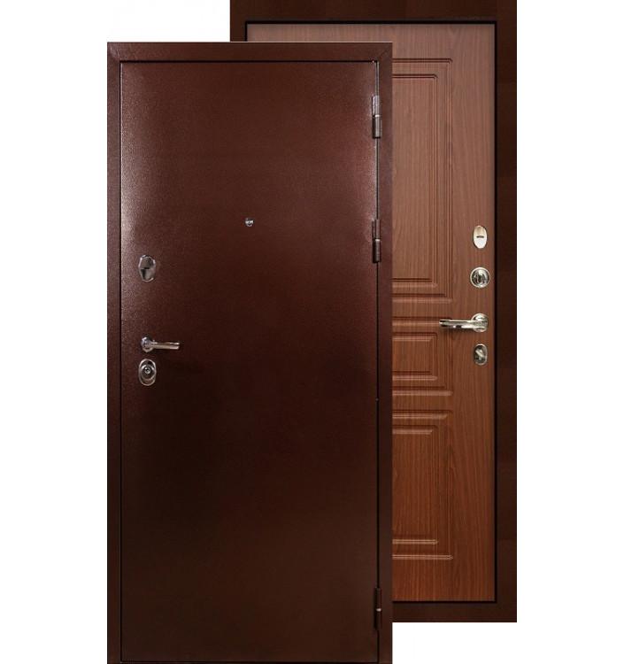 Входная дверь Лекс Титан медь ФЛ-19 (Береза мореная)