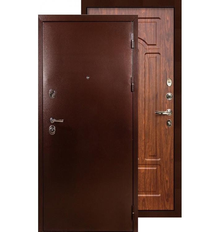 Входная дверь Лекс Титан медь ФЛ-26 (Береза мореная)