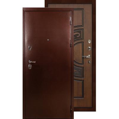 Входная дверь Лекс Титан медь ФЛ-27 (Голден патина)