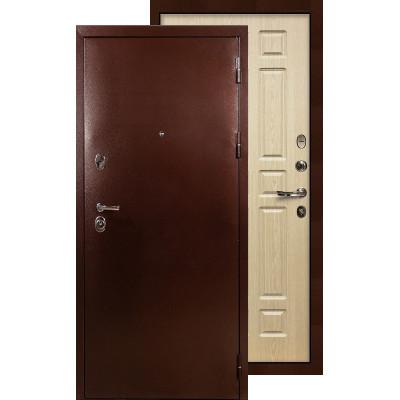 Входная дверь Лекс Титан медь ФЛ-28 (Беленый дуб)