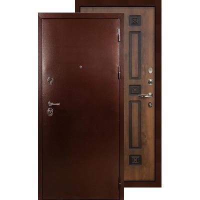 Входная дверь Лекс Титан медь ФЛ-33 (Голден патина)