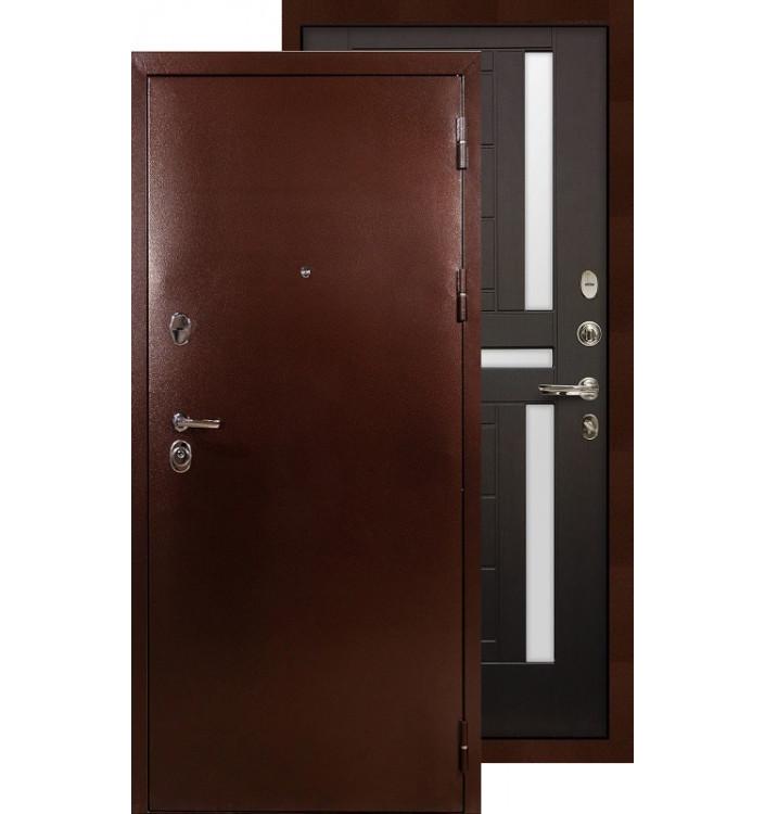 Входная дверь Лекс Титан медь ФЛ-35 (Венге)