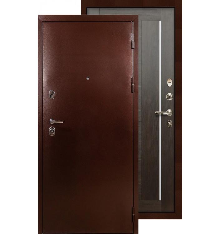 Входная дверь Лекс Титан медь Верджиния (Венге)
