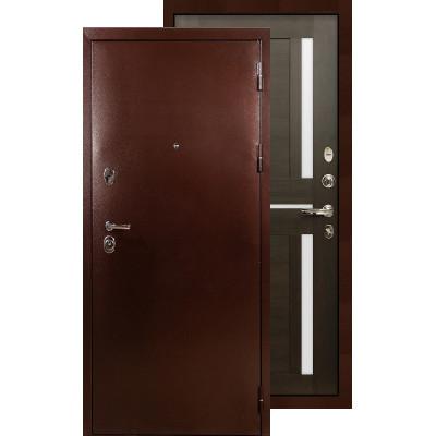 Входная дверь Лекс Титан медь Баджио (Венге)