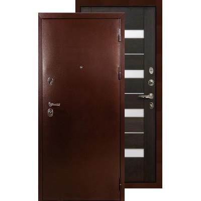 Входная дверь Лекс Титан медь Сицилио (Венге)