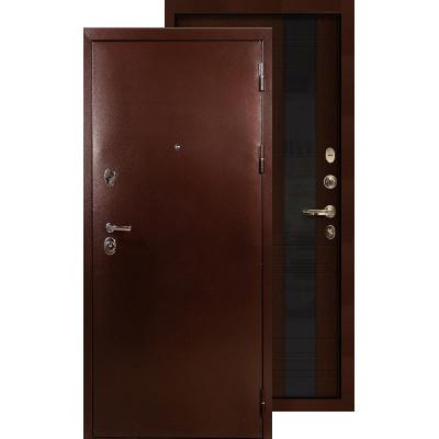 Входная дверь Лекс Титан медь Новита (Венге)