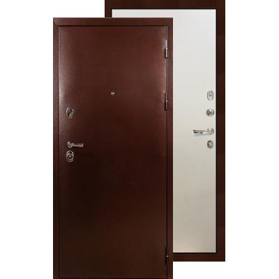 Входная дверь Лекс Титан медь ФЛ-62 (Белый ясень)