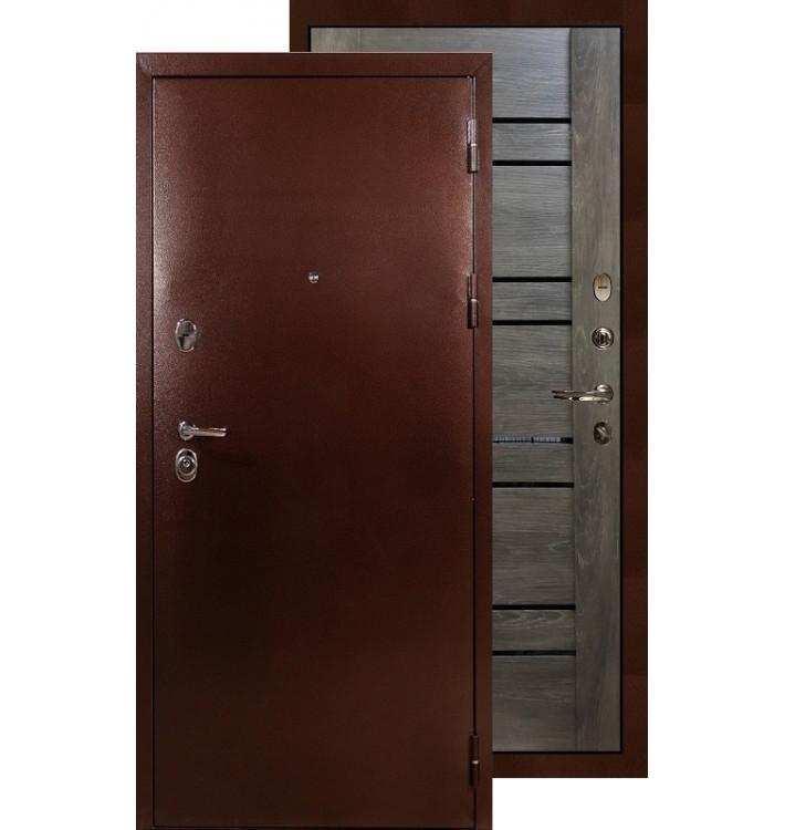 Входная дверь Лекс Титан медь Терра (Графит шале)