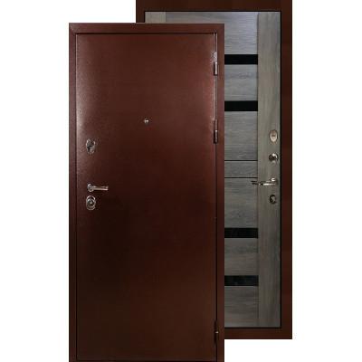 Входная дверь Лекс Титан медь Неро (Графит шале)