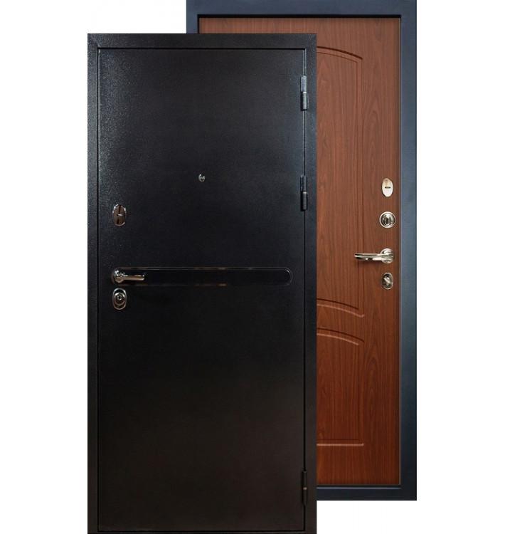 Входная дверь Лекс Титан серебро ФЛ-11 (Береза мореная)