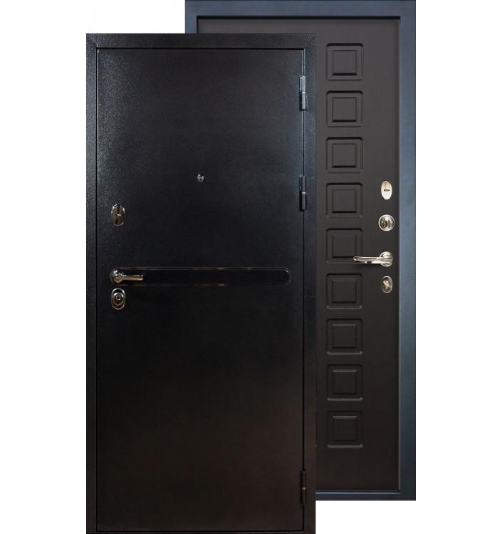 Входная дверь Лекс Титан серебро ФЛ-21 (Венге)