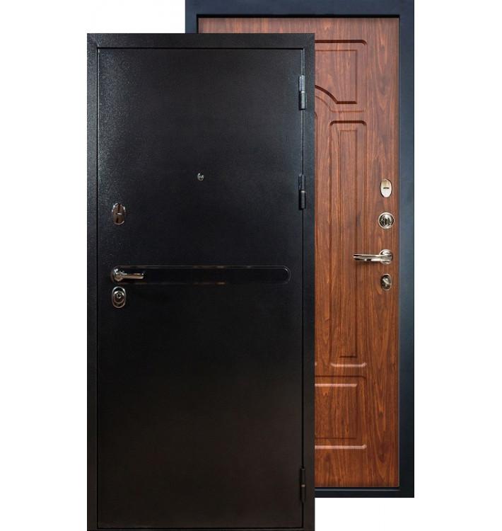 Входная дверь Лекс Титан серебро ФЛ-26 (Береза мореная)