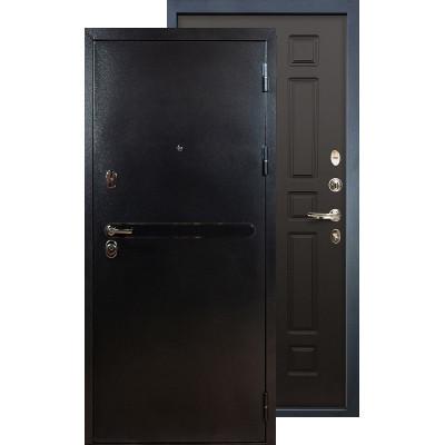 Входная дверь Лекс Титан серебро ФЛ-29 (Венге)