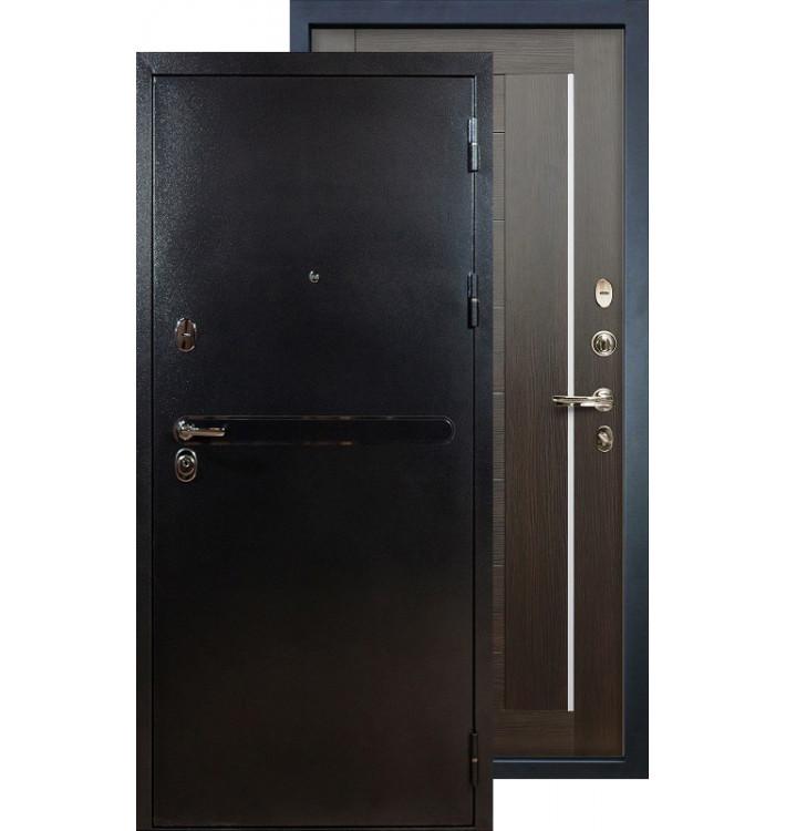 Входная дверь Лекс Титан серебро Верджиния (Венге)